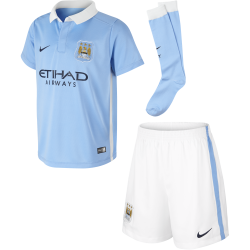 Manchester City Home Mini Kit 2015/2016
