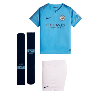 Manchester City Home Mini Kit 2018/2019