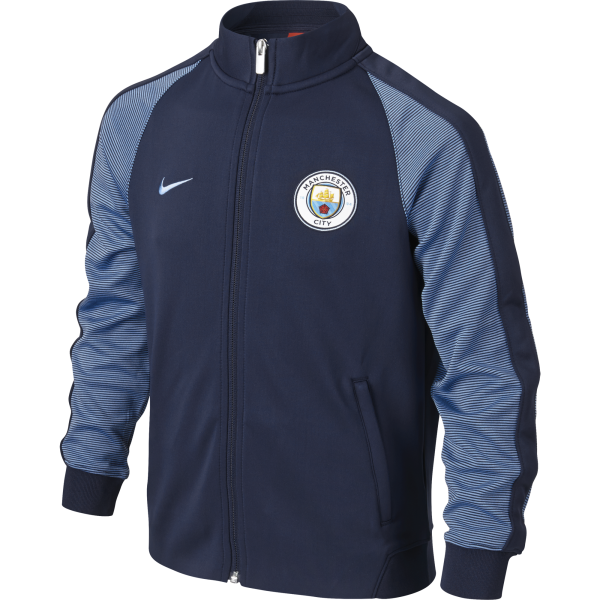 Nike Manchester City Junior N98 Authentic Track Jacket