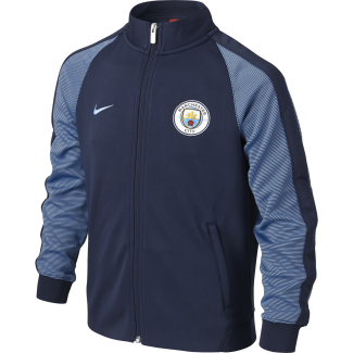 Manchester City Junior N98 Authentic Track Jacket