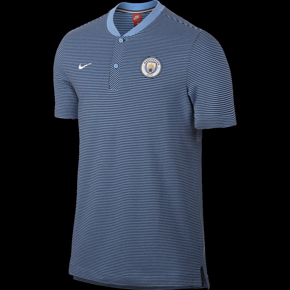 Nike Manchester City Modern Authentic Poloshirt Herren blau