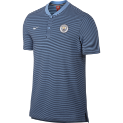 Manchester City Mens Modern Authentic Grand Slam Polo