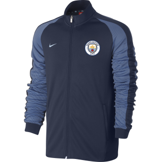 Manchester City Mens N98 Authentic Track Jacket