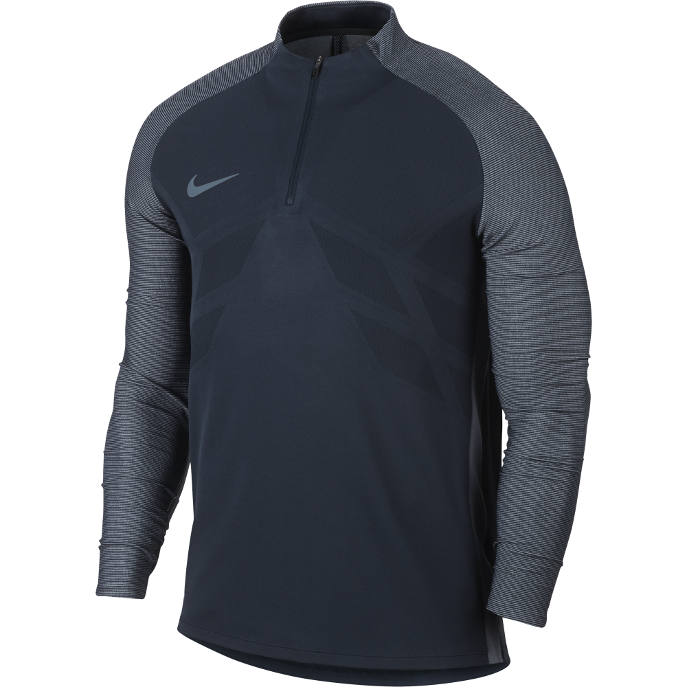 830ad0f1 Nike Mens Aeroswift Strike Football Drill Top in Navy | Excell Sports UK