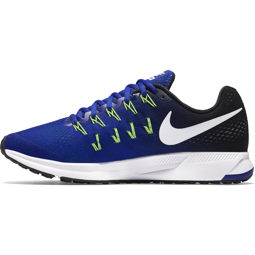 nike mens air zoom pegasus 33 in blue excell sports uk. Black Bedroom Furniture Sets. Home Design Ideas