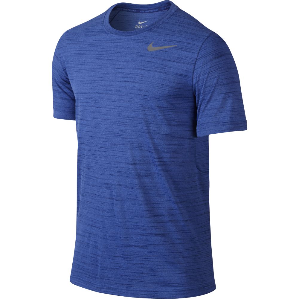Nike Mens Dri Fit Touch Crew S S T Shirt Nike From