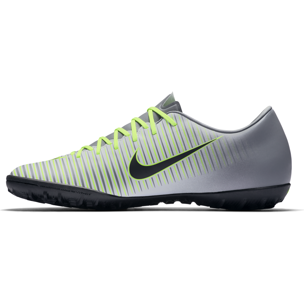 Nike Mercurial Victory VI TF in Platinum | Excell Sports UK