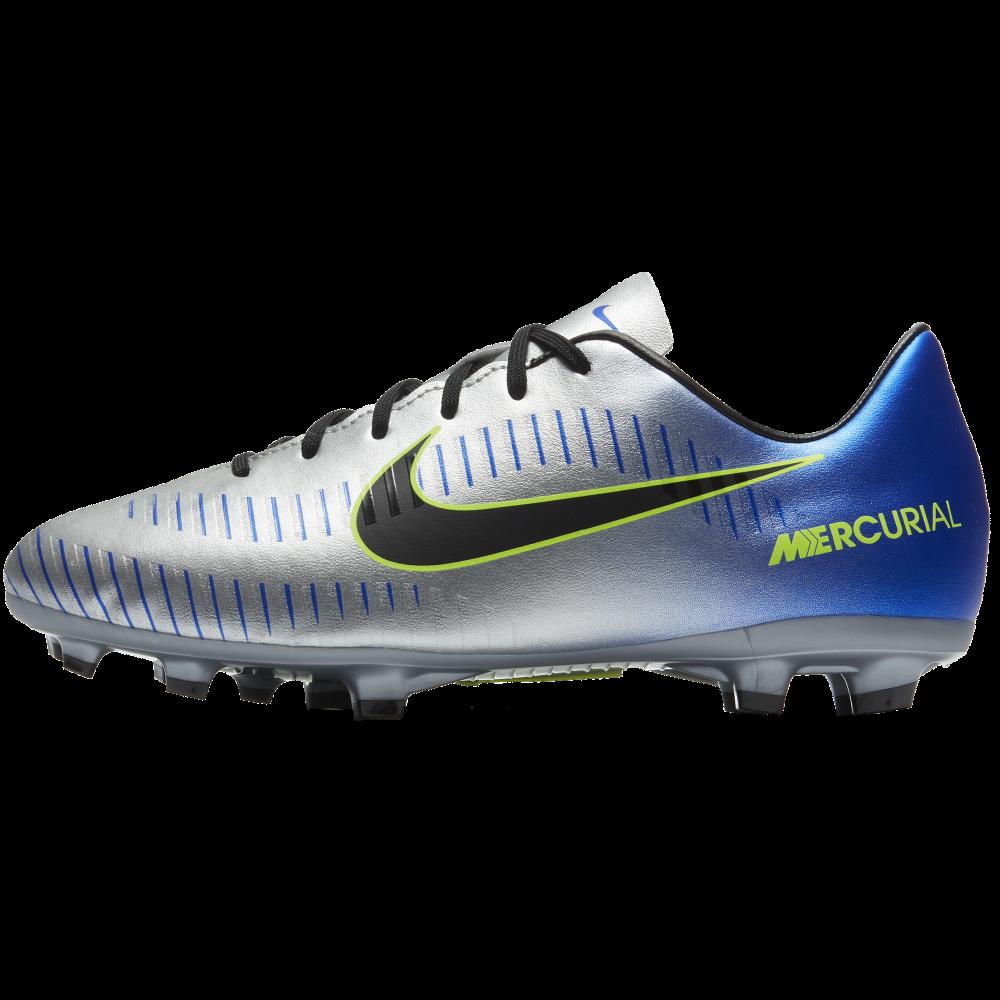 2cad37bd655f Nike Neymar Jr. Mercurial Victory VI Junior FG in Chrome | Excell ...