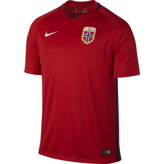 Norway Home Mens Short Sleeve Jersey 2016/2017