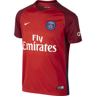 Paris Saint-Germain Away Junior Short Sleeve Jersey 2016/2017