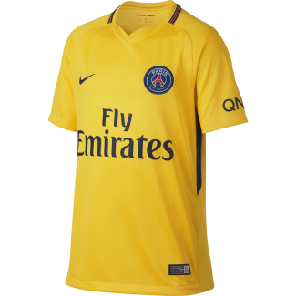 Paris Saint-Germain Away Junior Short Sleeve Jersey 2017/2018