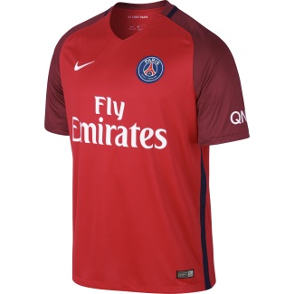 Paris Saint-Germain Away Mens Short Sleeve Jersey 2016/2017