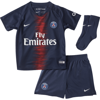 Paris Saint-Germain Home Baby Kit 2018/2019