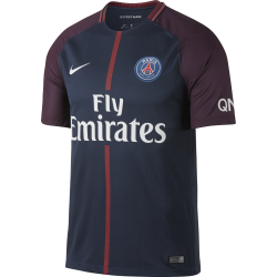 Paris Saint-Germain Home Junior Short Sleeve Jersey 2017/2018