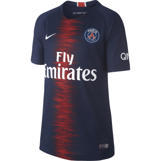 Paris Saint-Germain Home Junior Short Sleeve Jersey 2018/2019