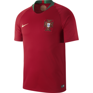 Portugal Home Mens Short Sleeve Jersey 2018