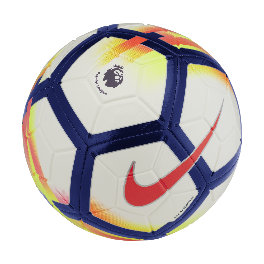 Nike Premier League Strike Football in White