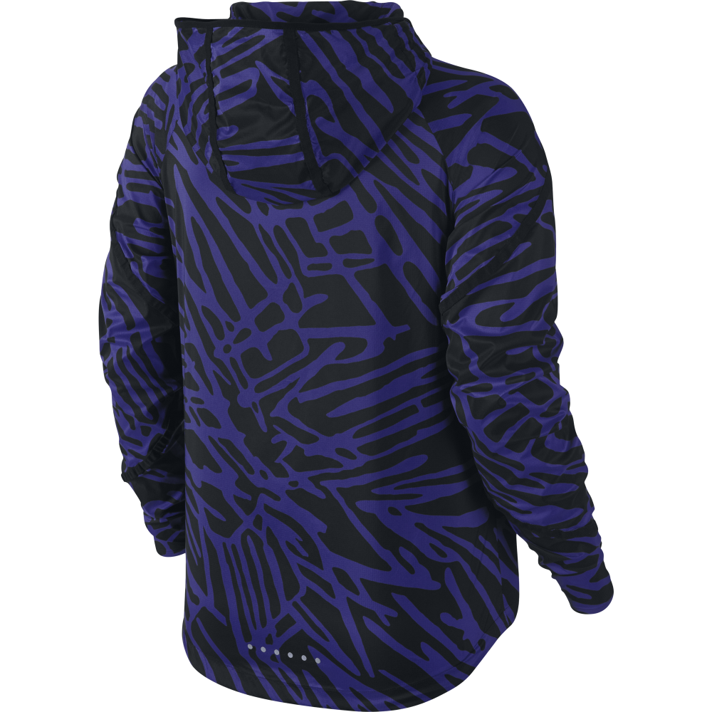 Nike Womens Palm Impossibly Light Jacket In Blue Excell