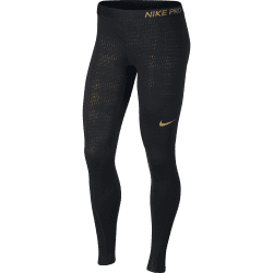 Womens Pro Tight Metallic Dots Print
