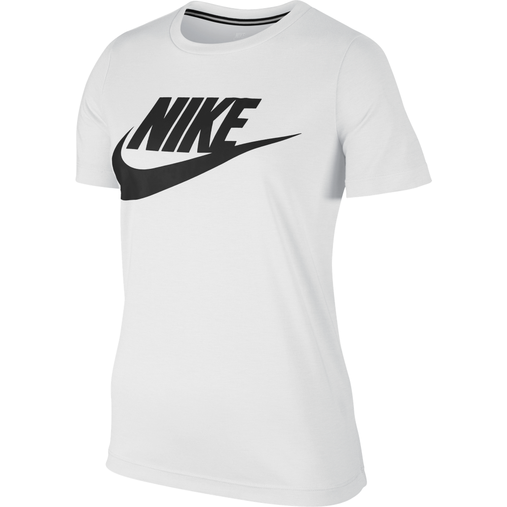 nike womens sportswear essential tshirt in white excell