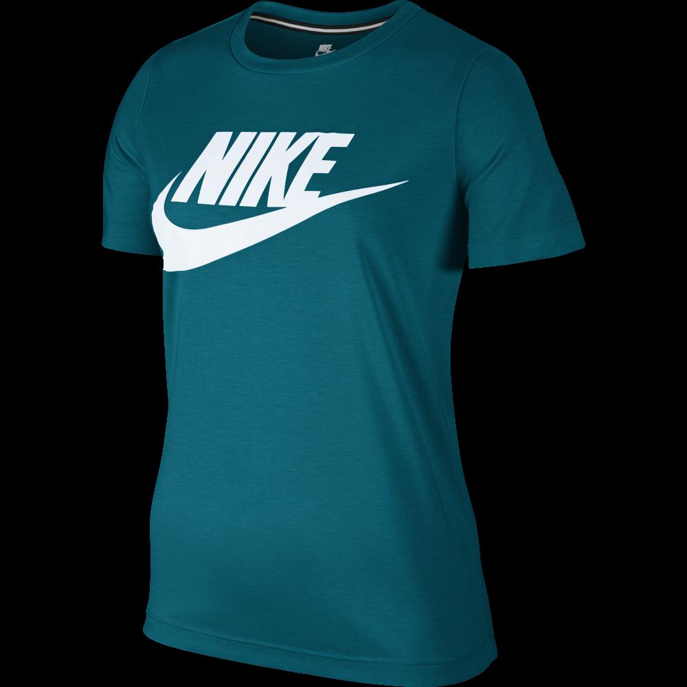 nike womens sportswear essential tshirt in blustery