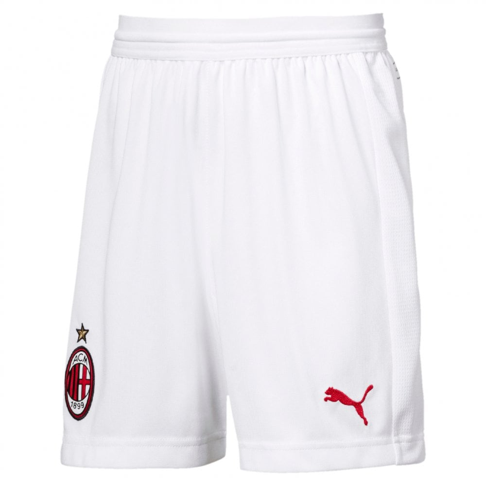 e72734bbd291 Puma AC Milan Home Junior Short 2018/2019 - Puma from Excell Sports UK