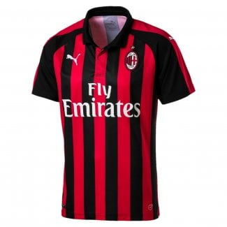 AC Milan Home Mens Short Sleeve Jersey 2018/2019