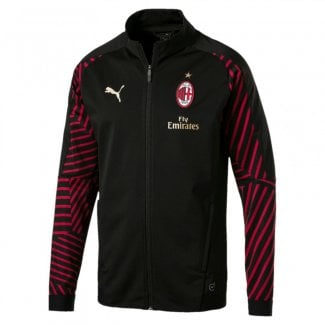 AC Milan Junior Stadium Jacket