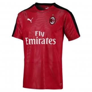 AC Milan Mens Stadium Short Sleeve Jersey 2018/2019