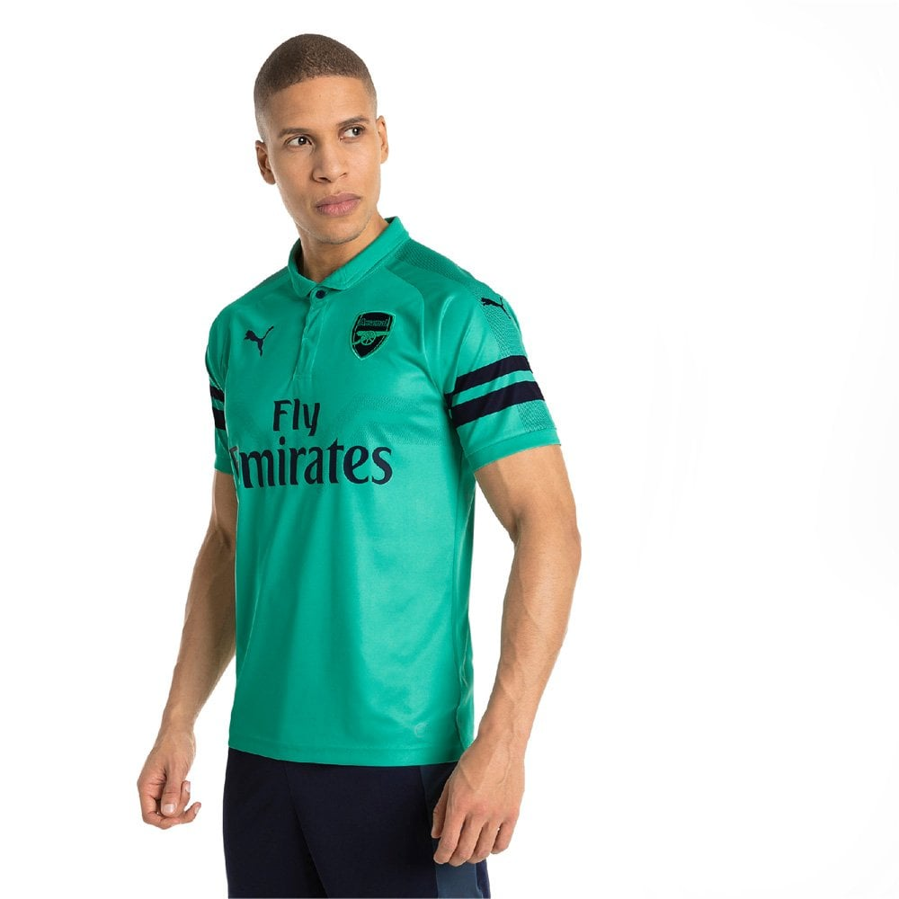 Puma Arsenal 3rd Mens Short Sleeve Jersey 2018 2019 - Puma from ... 46acd2633