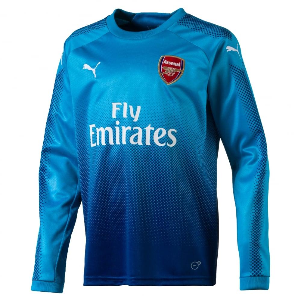sports shoes d7c4e 09c26 Puma Arsenal Long Sleeve Jersey 2017/2018