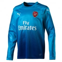 Arsenal Away Junior Long Sleeve Jersey 2017/2018