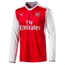 Arsenal Home Mens Long Sleeve Jersey 2016/2017