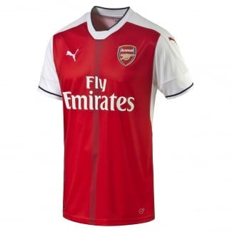 Arsenal Home Mens Short Sleeve Jersey 2016/2017