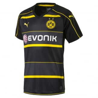 Borussia Dortmund Away Mens Short Sleeve Jersey 2016/2017