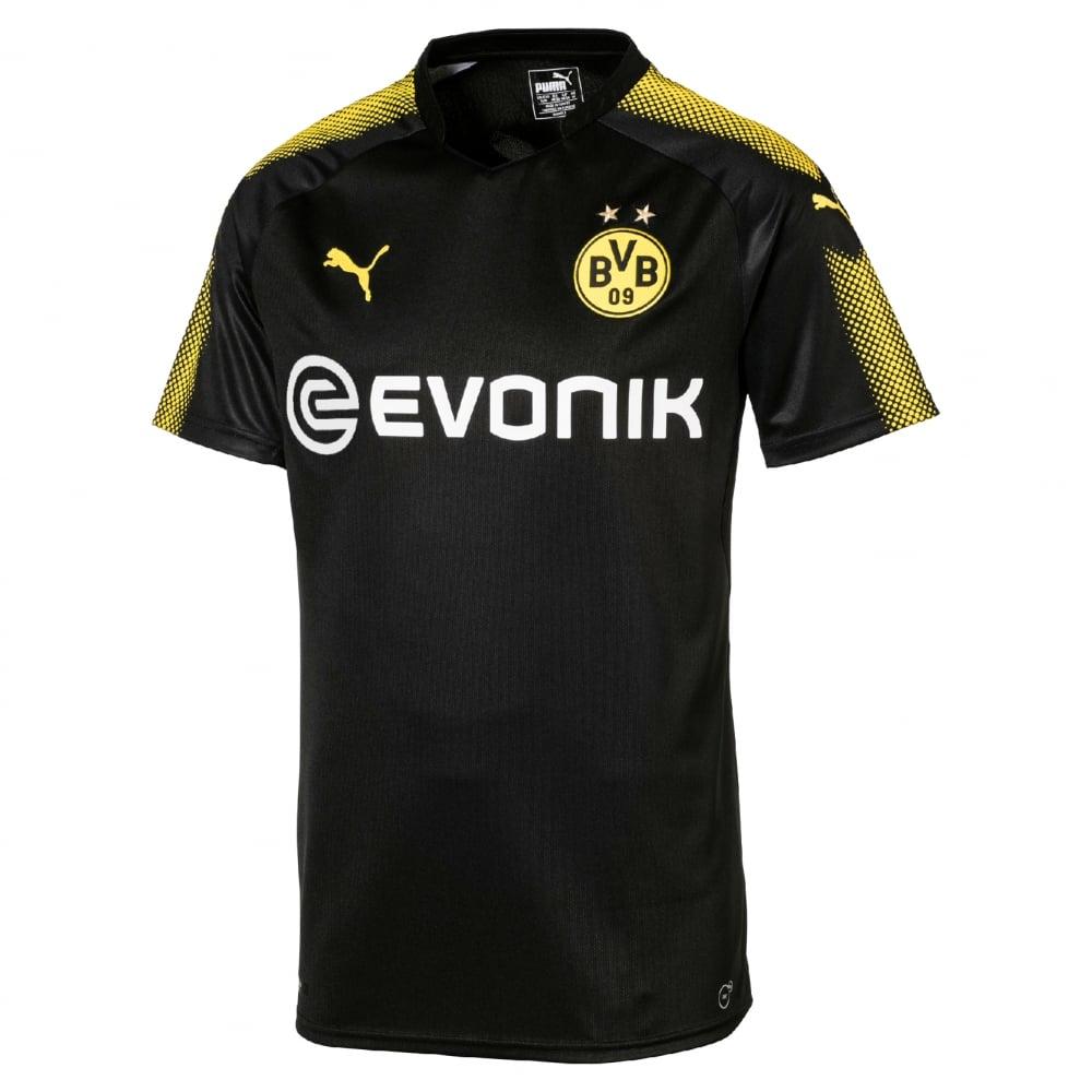 Puma Borussia Dortmund Away Mens Short Sleeve Jersey 2017 ...