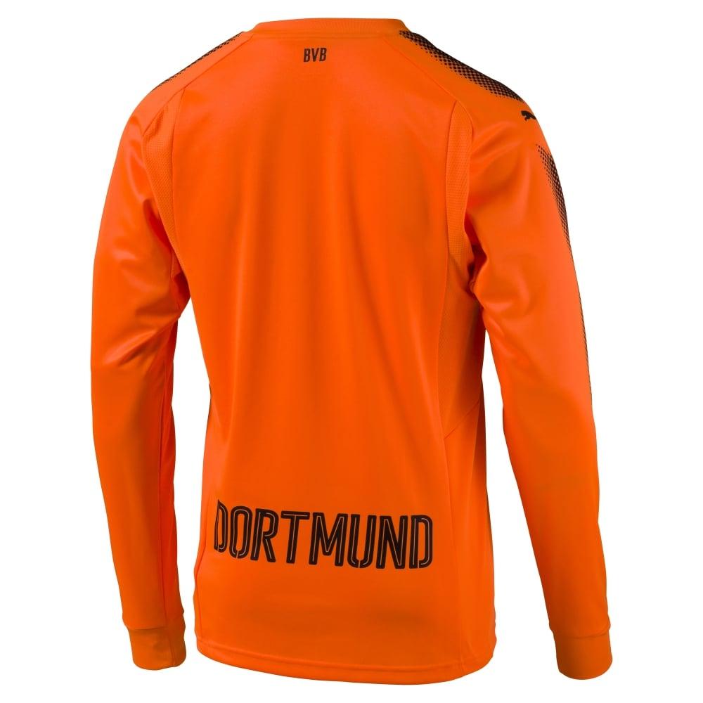 on sale d2521 21ba0 Puma Borussia Dortmund Goalkeeper Junior Jersey 2017/2018