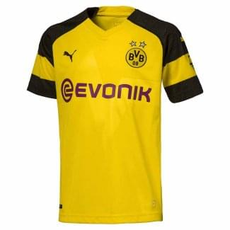 Borussia Dortmund Home Junior Short Sleeve Jersey 2018/2019
