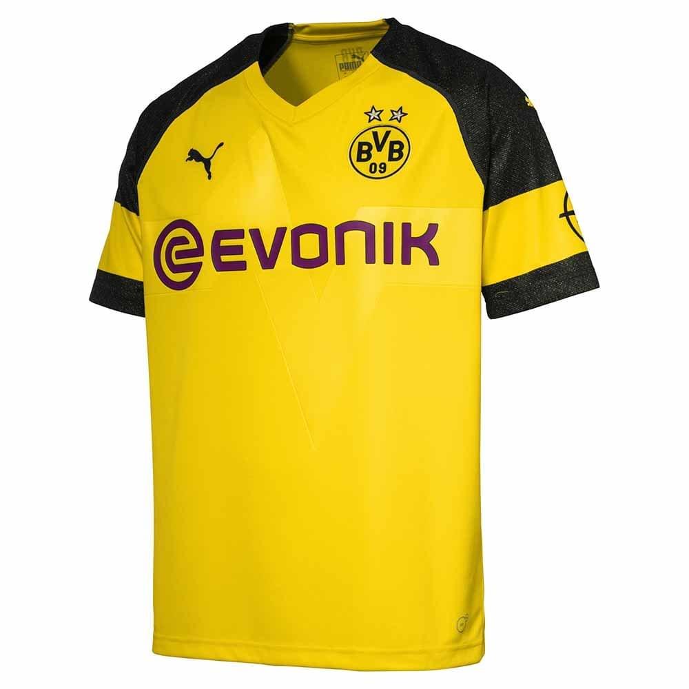 Puma Borussia Dortmund Home Mens Short Sleeve Jersey 2018 ...