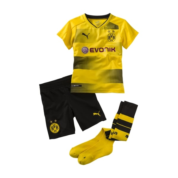 Puma Borussia Dortmund Home Mini Kit 2017/2018