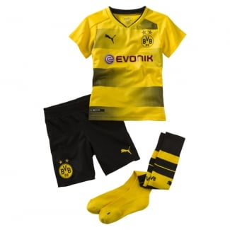 Borussia Dortmund Home Mini Kit 2017/2018