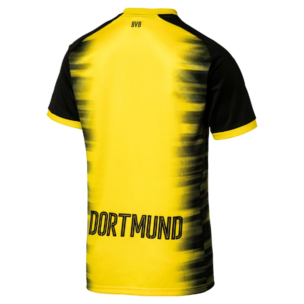 695aa4e4d0b Puma Borussia Dortmund International Mens Short Sleeve Jersey 2017 2018 in  Yellow