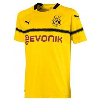 d4fe32b2a46 Borussia Dortmund Junior Cup Short Sleeve Jersey 2018 2019