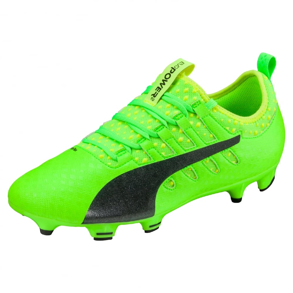 Puma evoPOWER Vigor 2 FG in Green   Excell Sports UK