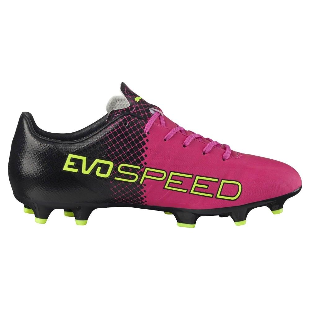 15744539f8 Puma evoSPEED 4.5 Tricks FG in Pink