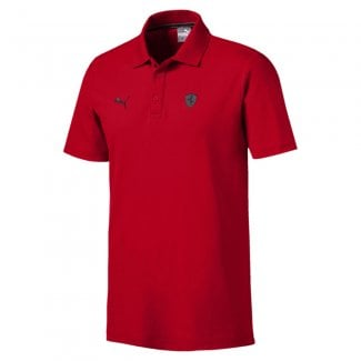 Ferrari Mens Polo Shirt