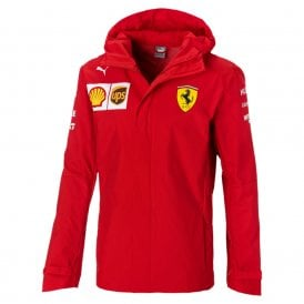 Ferrari Team Woven Hooded Mens Jacket