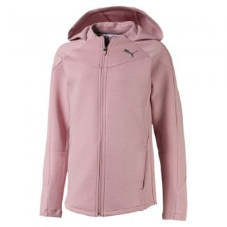 Girls Evostripe Hooded Jacket
