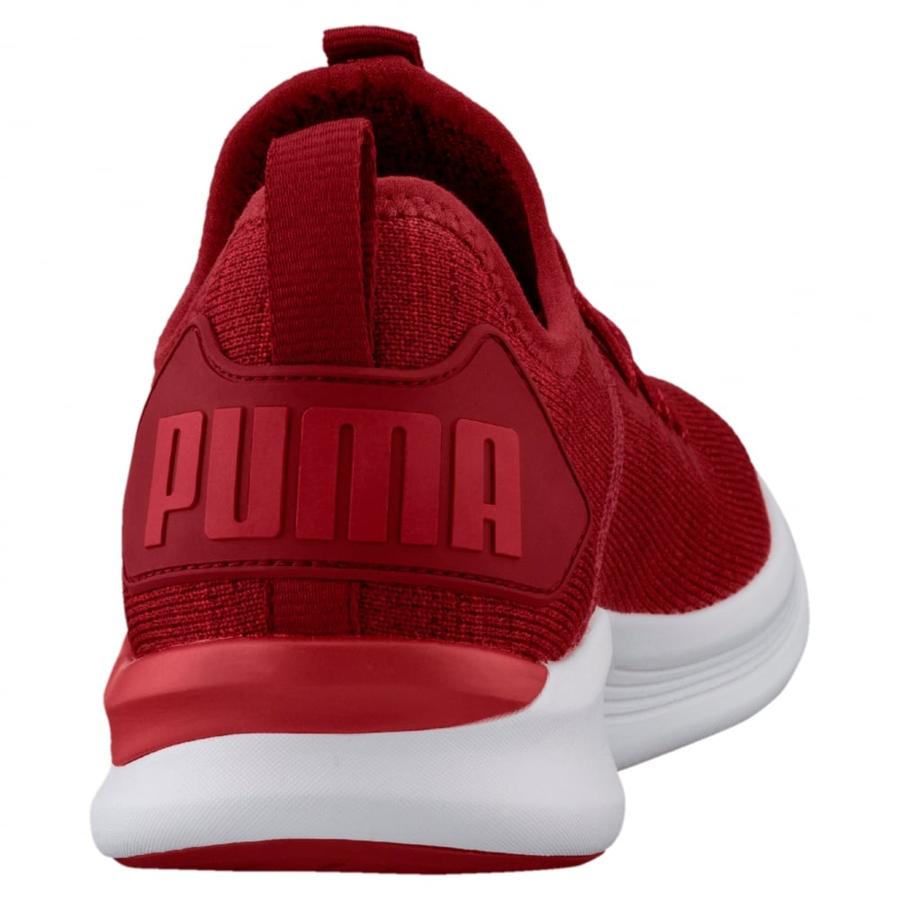 huge discount e0974 c23aa Puma IGNITE Flash evoKNIT Men's Running Shoes in Red ...