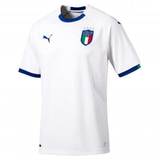 Italia Away Junior Short Sleeve Jersey 2018